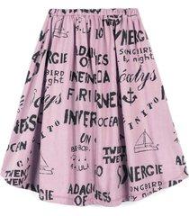 wolf & rita lilac skirt for girl