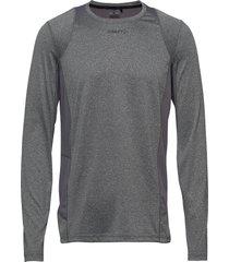 adv essence ls tee m t-shirts long-sleeved grå craft
