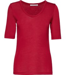 lerna t-shirts & tops short-sleeved röd tiger of sweden