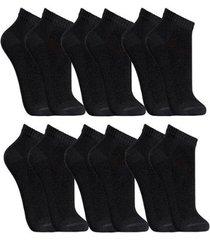 kit de meias part.b cano curto 6 pares fit masculino - masculino