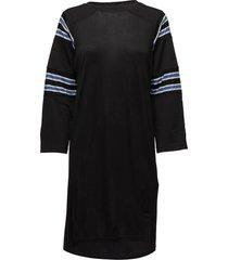d-uby dress knälång klänning svart diesel women