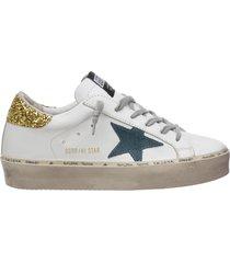 scarpe sneakers donna in pelle hi star