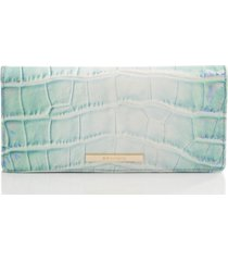 brahmin ady soleil embossed leather wallet