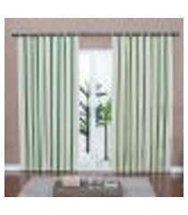 cortina ipê - 180 x 300 cm oliva