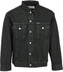 spijkerjack calvin klein jeans dad denim jacket