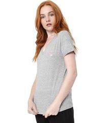 camiseta calvin klein underwear visco modern cinza