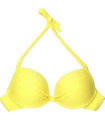 bikini estilo sostén clásico amarillo samia