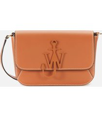 jw anderson women's braided midi anchor bag - pecan