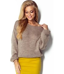 sweter z domieszką wełniany