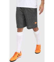 pantaloneta gris-naranja patrick