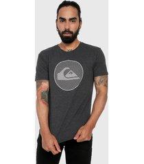 camiseta gris quiksilver disco t-shirt