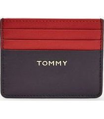 tommy hilfiger women's colorblock credit card holder corporate -