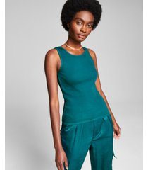 and now this women's cotton ribbed tank top
