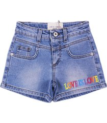 alberta ferretti shorts denim