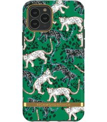 richmond & finch green leopard case for iphone 11 pro