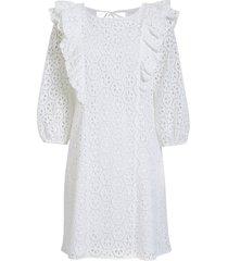 women's lilly pulitzer primm eyelet shift dress, size large - white