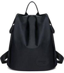 mochila casual mujeres- la moda de las mujeres s de-negro