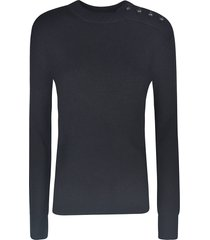 paco rabanne button embellished sweater