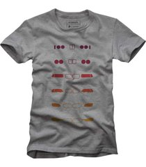 camiseta bmw reserva cinza - cinza - masculino - dafiti