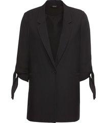 blazer con manica a 3/4 (nero) - bodyflirt