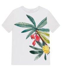 lez a lez - blusa manga curta estampa papaya