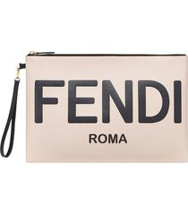 roma large flat pouch