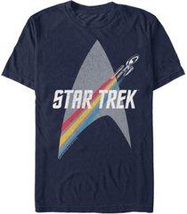 star trek men's the original series retro prism enterprise short sleeve t-shirt