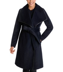 bcbgeneration belted wrap coat