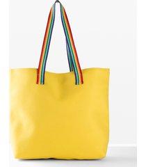 borsa shopper (giallo) - bpc bonprix collection