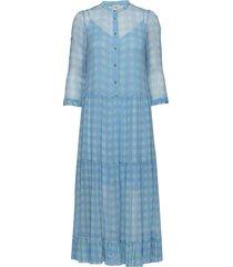 alexondra jurk knielengte blauw baum und pferdgarten