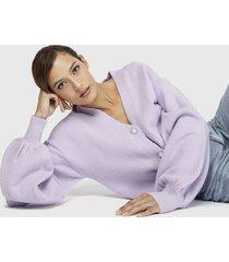 sweater missguided lila - calce holgado