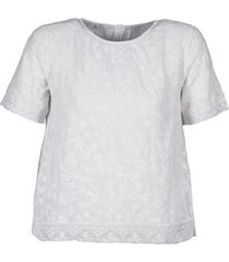 t-shirt korte mouw manoush cotonnade smockee