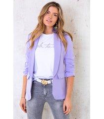 limited blazer lila