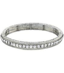 downton abbey crystal stretch bracelet