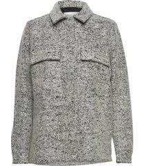 viancaiw jacket overshirts grijs inwear