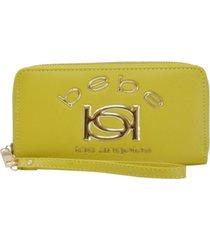 bebe kayla zip around wallet