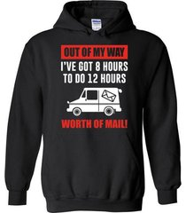 out of my way worth of mail blend hoodie