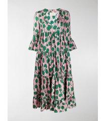 la doublej jennifer jane floral print dress