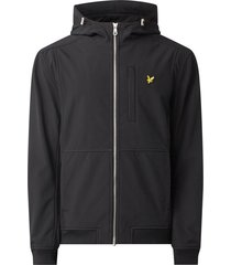 lyle and scott softshell jacket zwart