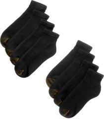 gold toe men's 8-pack quarter socks