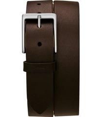 men's shinola lightning bolt keeper belt, size 32 - deep brown