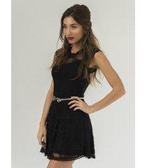 vestido negro florencia casarsa alice