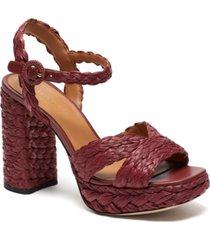 kate spade new york disco raffia dress sandals