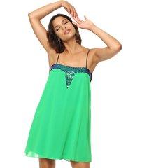 vestido verde design plus puntarena
