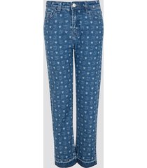 jeans med raka ben - multi