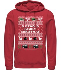 men's national lampoon christmas vacation griswold hoodie