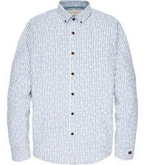 long sleeve shirt cf print imperial blue