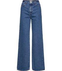 trouser denim jackie retro blu vida jeans blå lindex