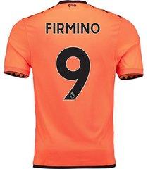 firmino 9 liverpool 3rd jersey 2017/18 soccer jersey football shirt