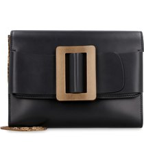 boyy leather buckle travel case